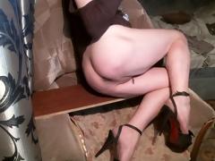 Sexy Legs Evy Fucking Her Seductive Ass!